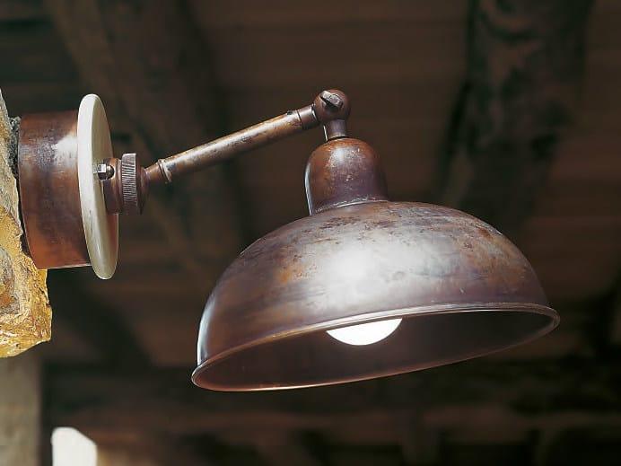Wall lamp with fixed arm LAGAZUOI by Aldo Bernardi