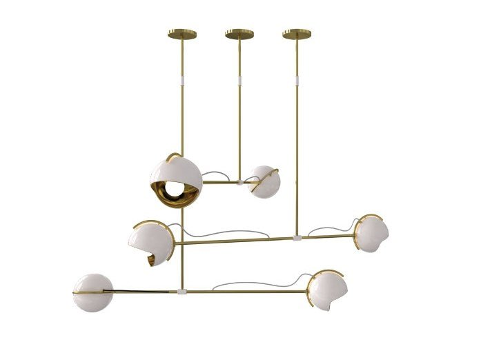 LED ceiling lamp LAINE | Ceiling lamp by Delightfull