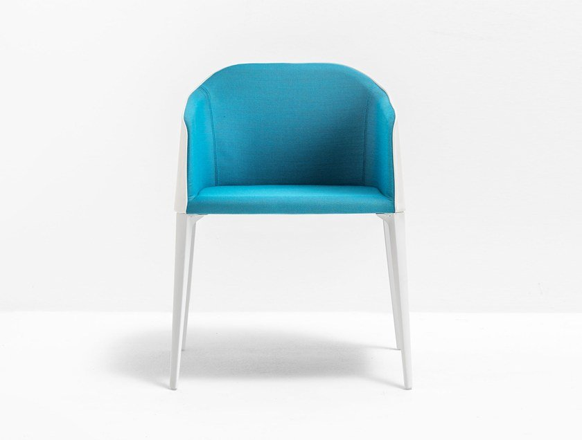 Upholstered chair with armrests LAJA 885 by Pedrali