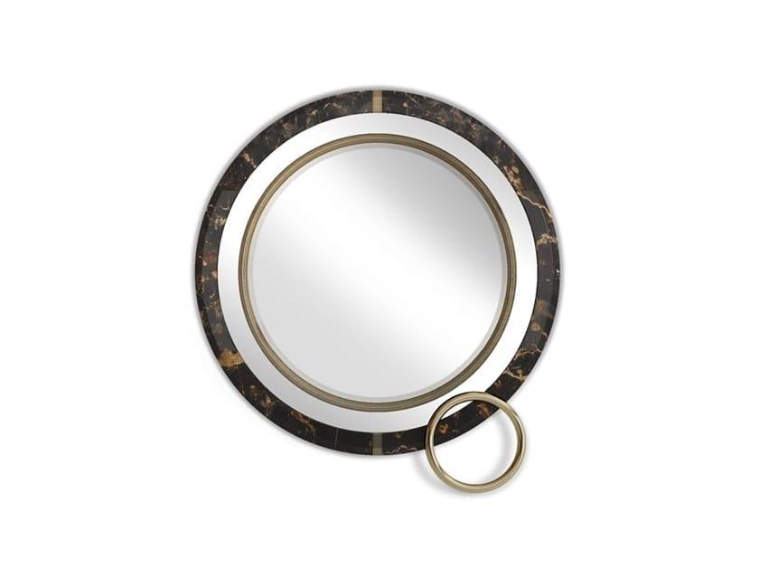 Specchio rotondo a parete LAKEWOOD by Porustudio