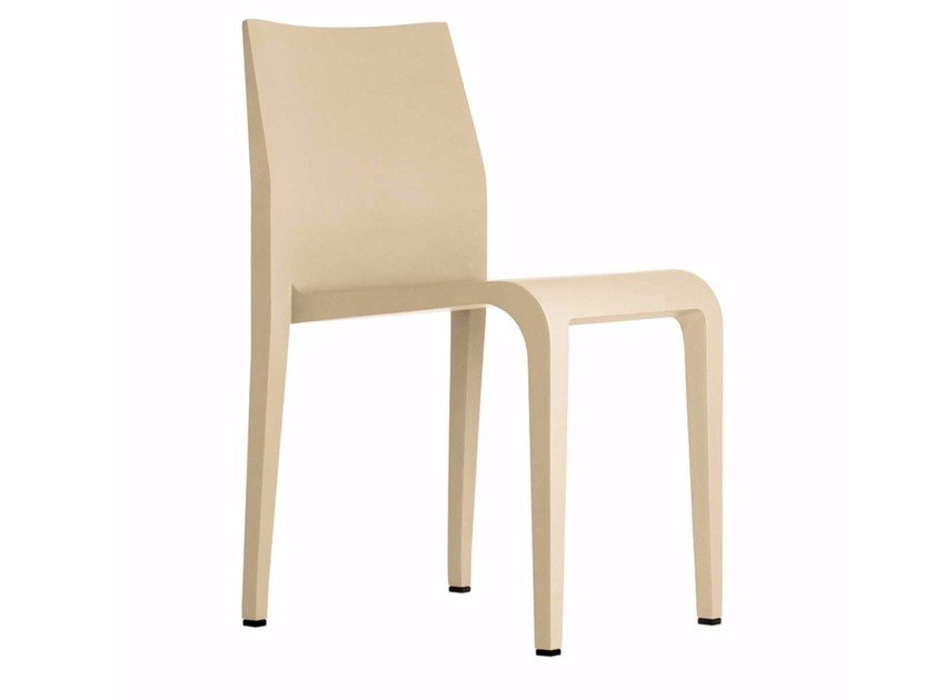 Stackable wooden chair LALEGGERA CHAIR - 301 by Alias