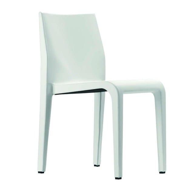 Leather301 Laleggera l In Alias Sedia Impilabile Pelle Chair cuF1J3KTl