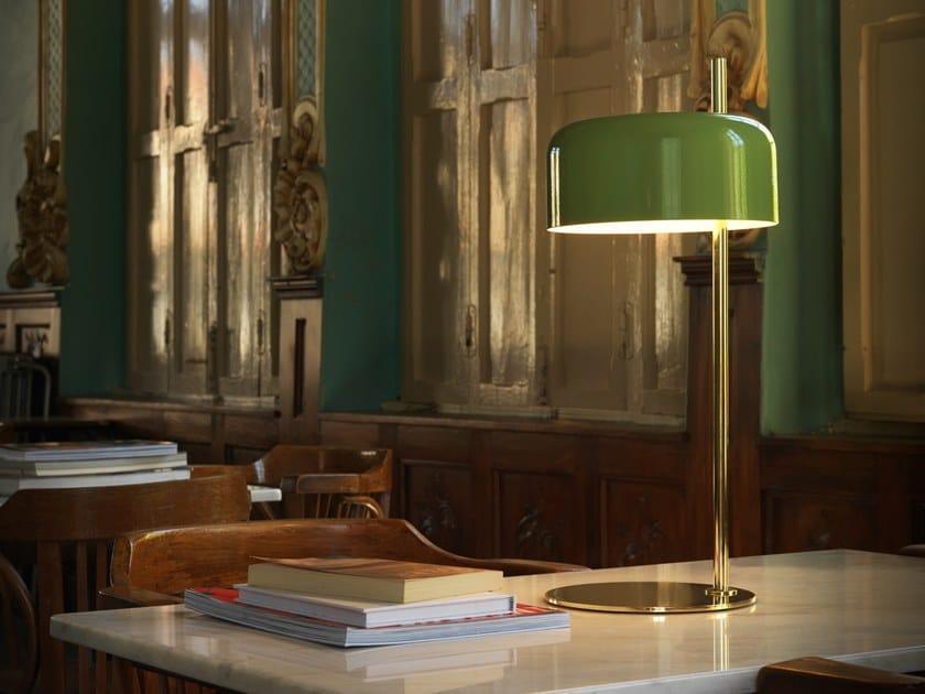 Lampada da tavolo in metallo con braccio fisso LALU | Lampada da tavolo by Aromas del Campo