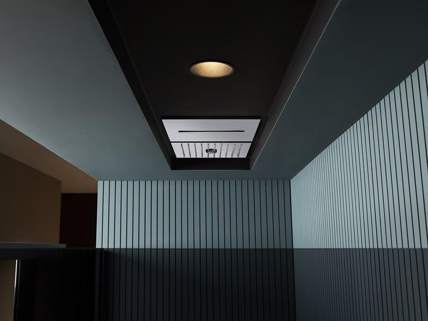 Soffione doccia a soffitto da incasso LAMATTONELLA by Antonio Lupi Design