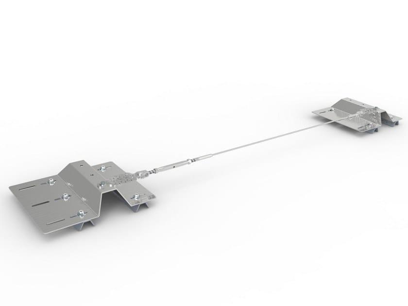 Piastra di fissaggio per ancoraggio su lamiera LAM SAFE by BIN SISTEMI