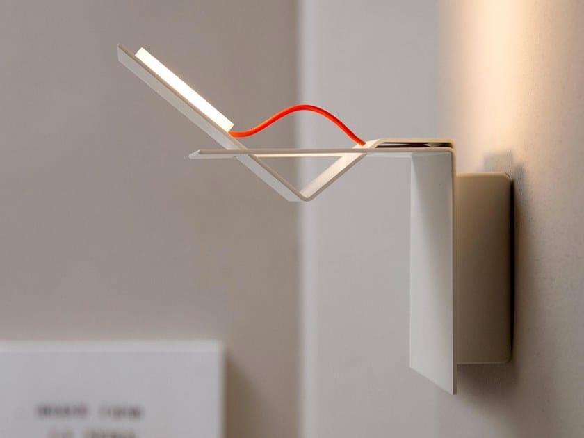 LED indirect light aluminium wall lamp LAMINA | Wall lamp by Karman