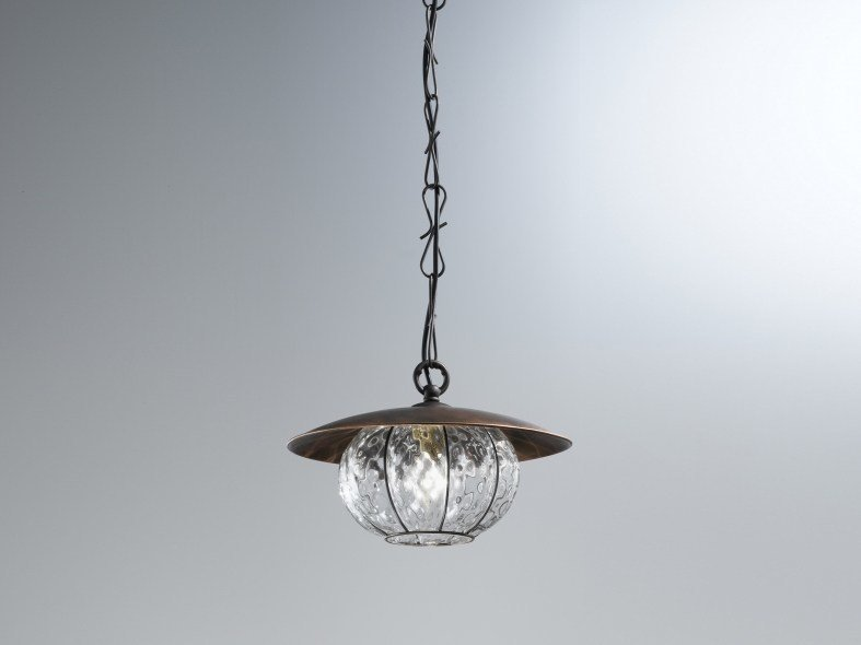 Murano glass pendant lamp LAMPARA MS 411 by Siru