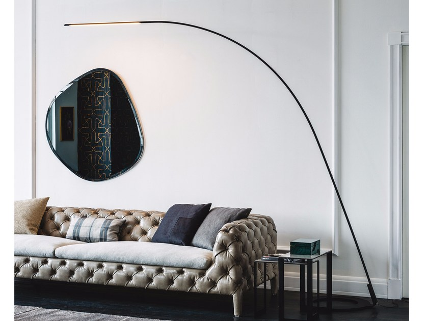 LED steel floor lamp LAMPO by Cattelan Italia