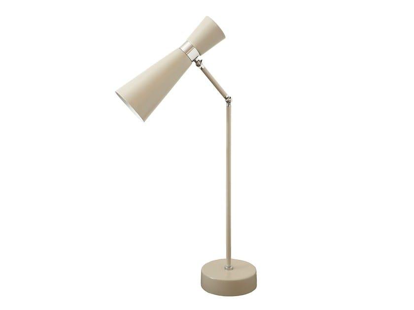 Lampada da tavolo orientabile in metallo LAMPREIA   Lampada da tavolo by Branco sobre Branco