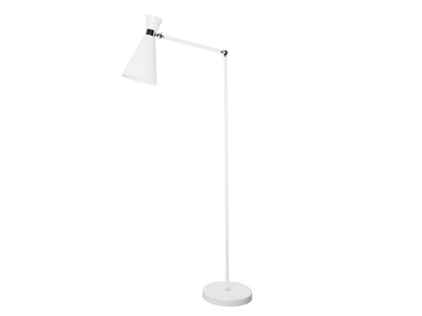 Lampada da terra a luce diretta orientabile in metallo LAMPREIA | Lampada da terra by Branco sobre Branco