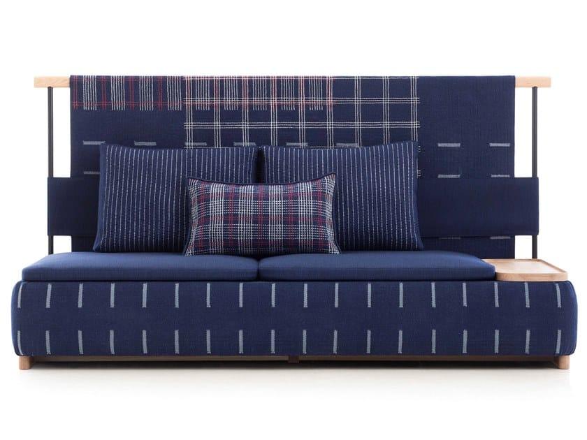 High-back fabric sofa LAN | High-back sofa by GAN