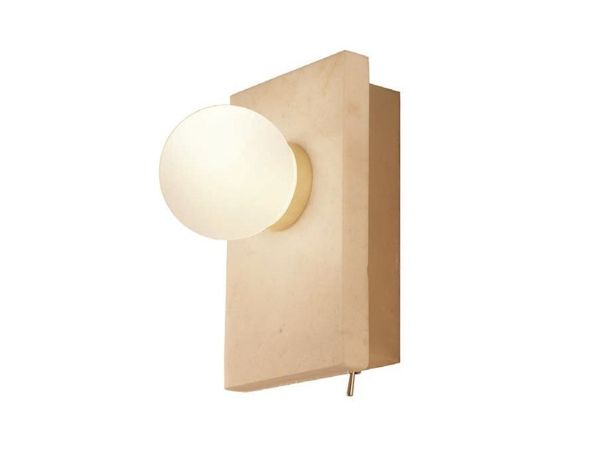 Marble wall light LAN   Marble wall light by Aromas del Campo