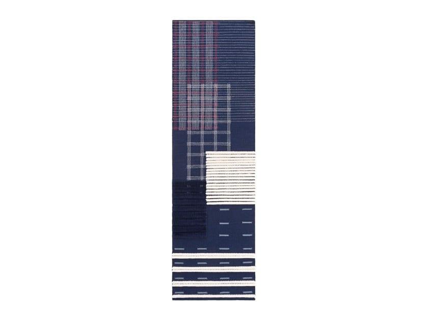 Rectangular wool rug LAN | Rug by GAN