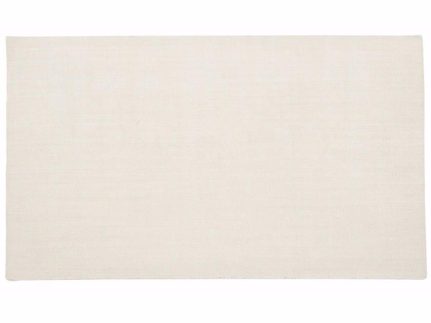 Handmade rectangular rug LANCE by ROCHE BOBOIS