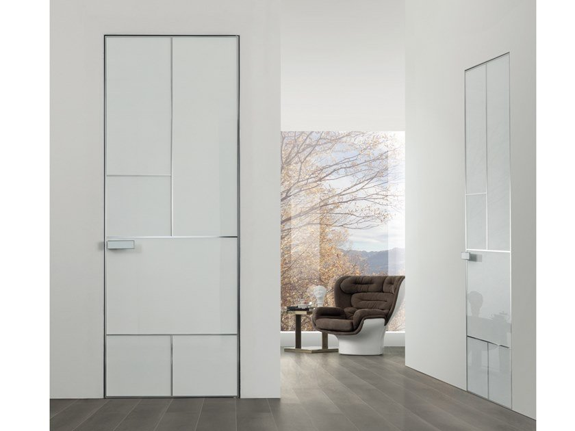 Land Lacquered Door Aluminium Chic Collection By Longhi Design