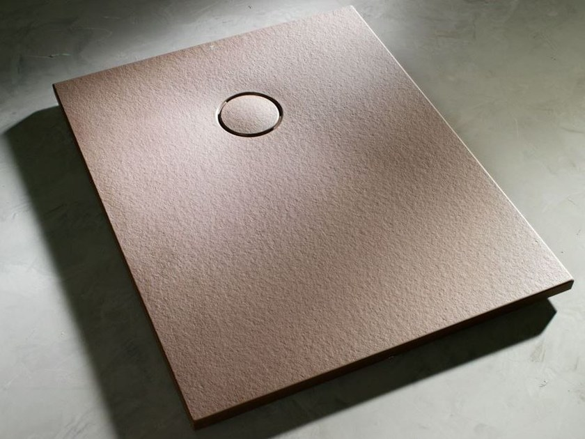 Rectangular shower tray land by systempool - Piatto doccia 70x85 ...