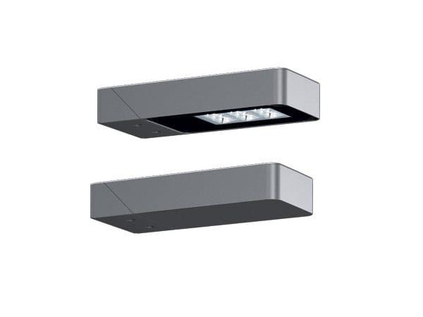 Applique per esterno a LED in alluminio estruso LANDER ...
