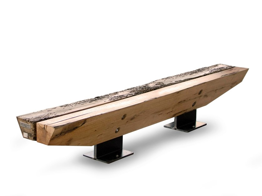 Cedarwood bench LANDMARK by Riva 1920