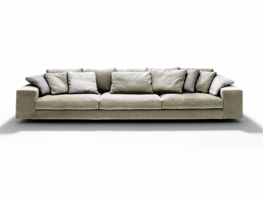 Sofa aus Stoff mit Récamiere LANDSCAPE By DE PADOVA Design Piero Lissoni