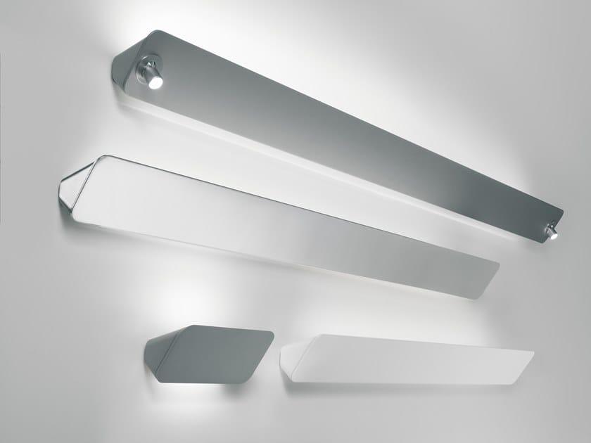 Lampada da parete a LED a luce indiretta in alluminio LANE by LUCEPLAN
