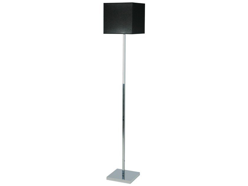 Fluorescent floor lamp LANGTON by Brossier Saderne