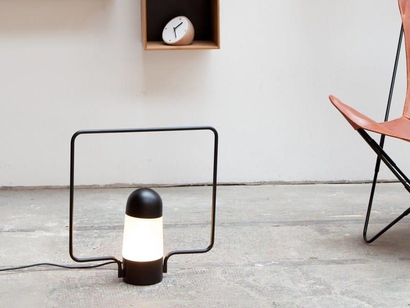 Metal table lamp / floor lamp LANTERNA C by Vertigo Bird