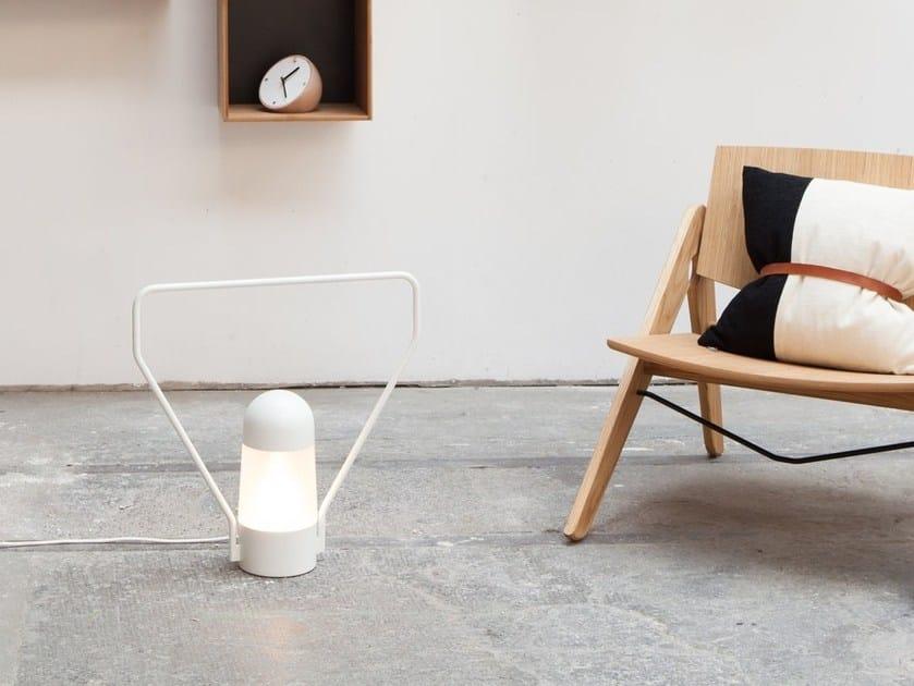 Lampe de table / lampadaire en métal LANTERNA D by Vertigo Bird
