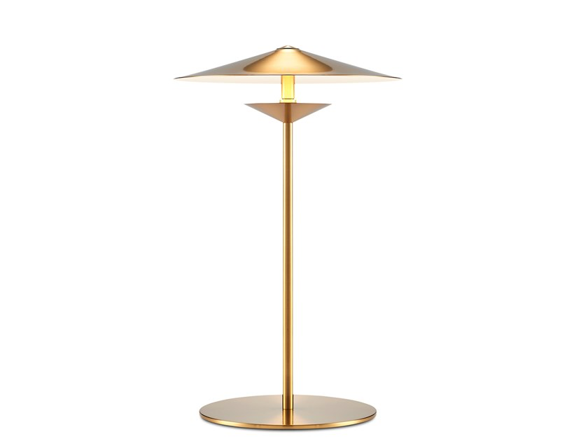 Brass table lamp LAOS | Table lamp by KAISHI