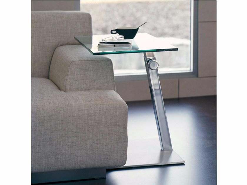 PC crystal coffee table LAP by Cattelan Italia