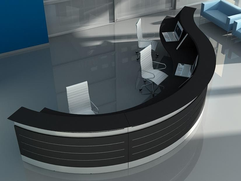 Modular Office reception desk LAP | Modular Office reception desk by BALMA