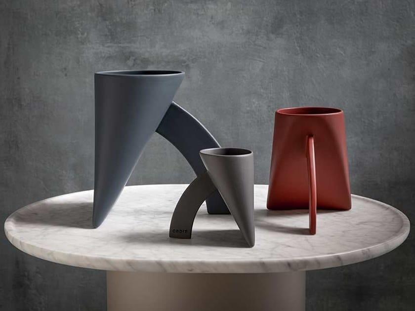 Ceramic vase LAPIS by CEDIT Ceramiche d'Italia