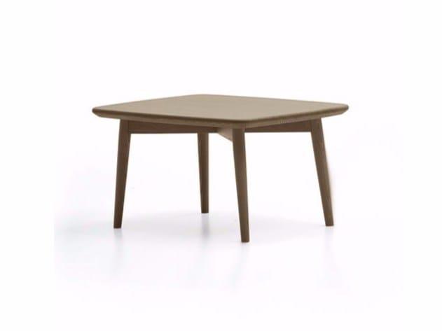 Tavolino rettangolare in frassino LAPIS | Tavolino by Varaschin