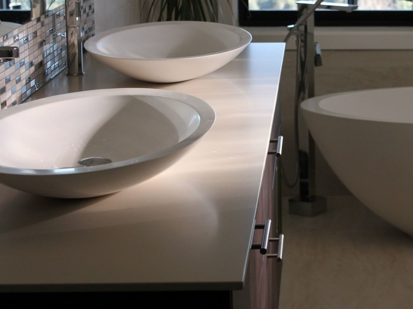 Lapitec® washbasin countertop LAPITEC® | Washbasin countertop by Lapitec