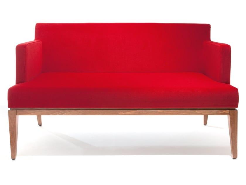 Fabric small sofa LARA   Small sofa by Blifase