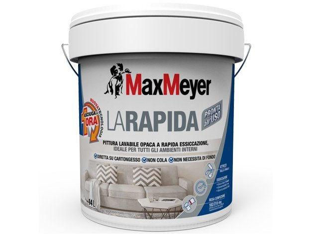Washable water-based paint LARAPIDA by MaxMeyer