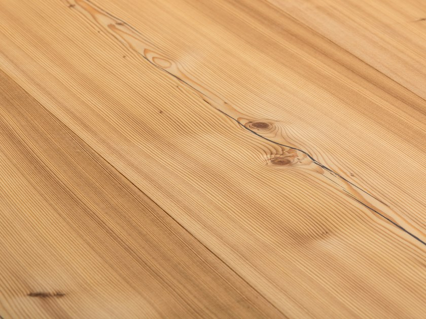 Larch flooring LARCH COUNTRY - LYE TREATED/ NATURAL OIL by mafi