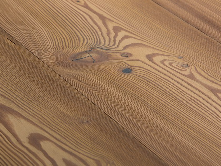 Larch flooring LARCH COUNTRY VULCANO - WHITE OIL by mafi