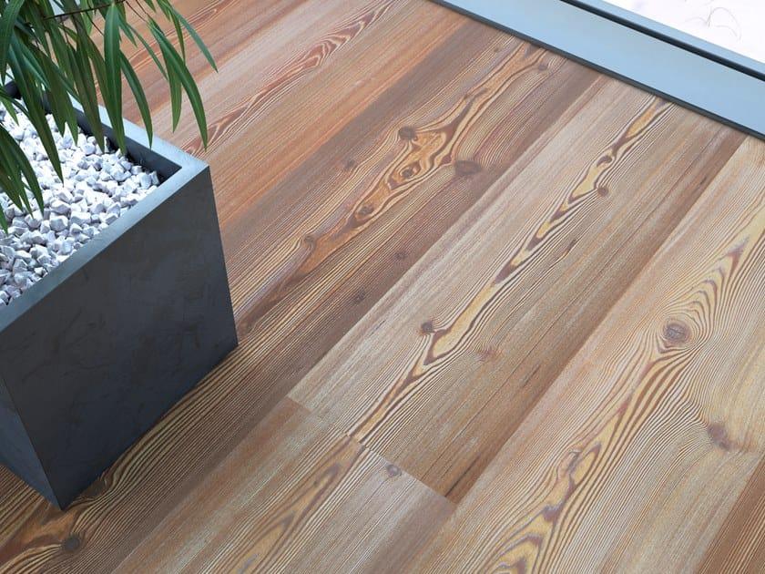 Larch flooring LARCH VULCANO - EXTREME LYE/ NATURAL OIL by mafi