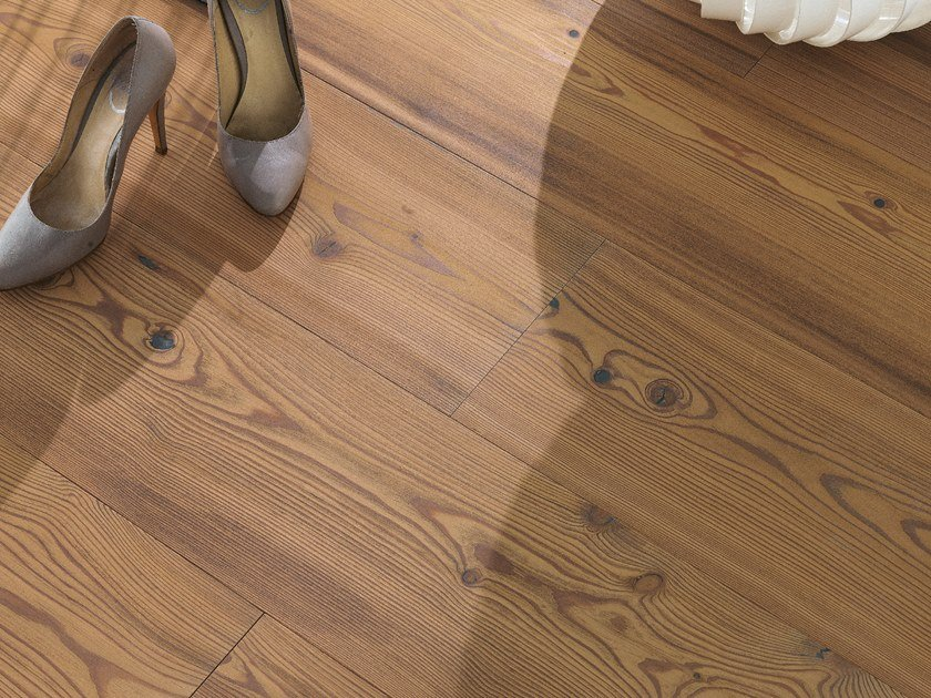 Larch flooring LARCH VULCANO - WHITE OIL by mafi