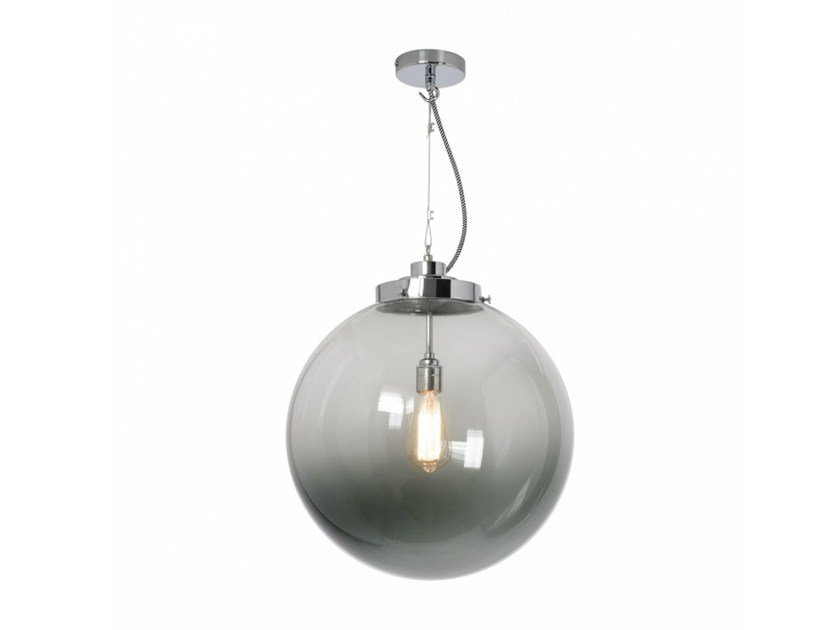 Glass pendant lamp with dimmer LARGE GLOBE by Original BTC