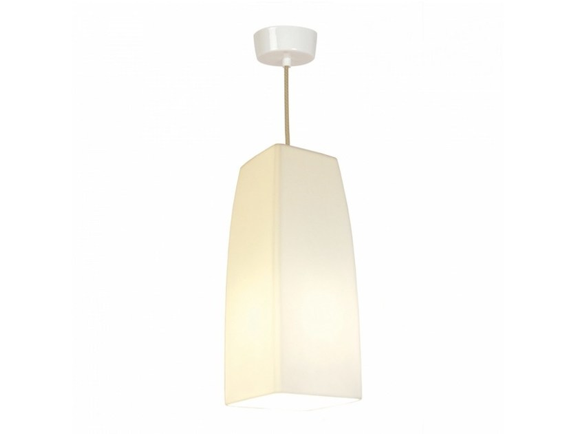 Porcelain pendant lamp LARGE SQUARE | Pendant lamp by Original BTC