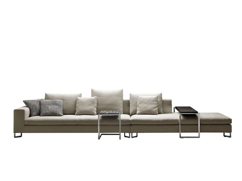 Sectional fabric sofa LARGE | Sectional sofa by Molteni&C