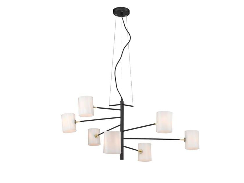 LED swivel metal pendant lamp LARGE by Seyvaa