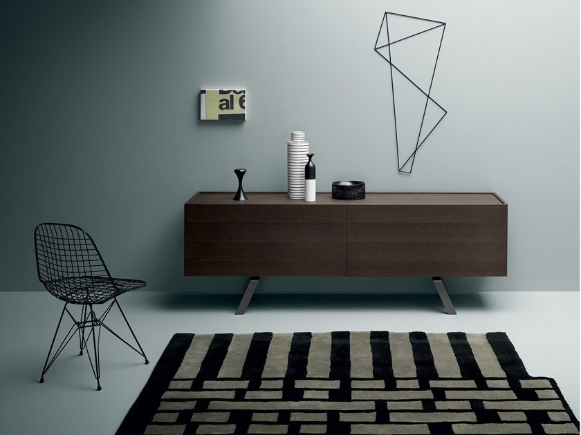 Sideboard with sliding doors LARS by Md House