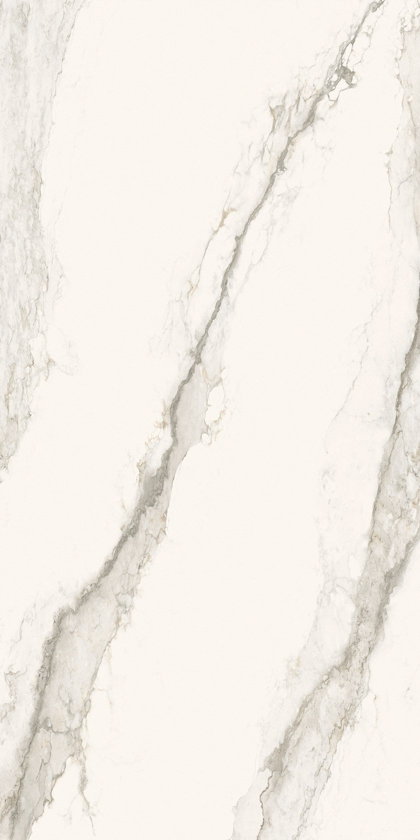 Larsen Super Blanco-Gris Pulido Brillo / High-gloss Polished 150x300 cm