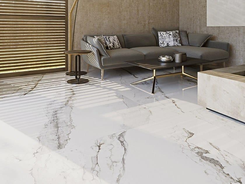 LARSEN Larsen Super Blanco-Gris Pulido Brillo / High-gloss Polished
