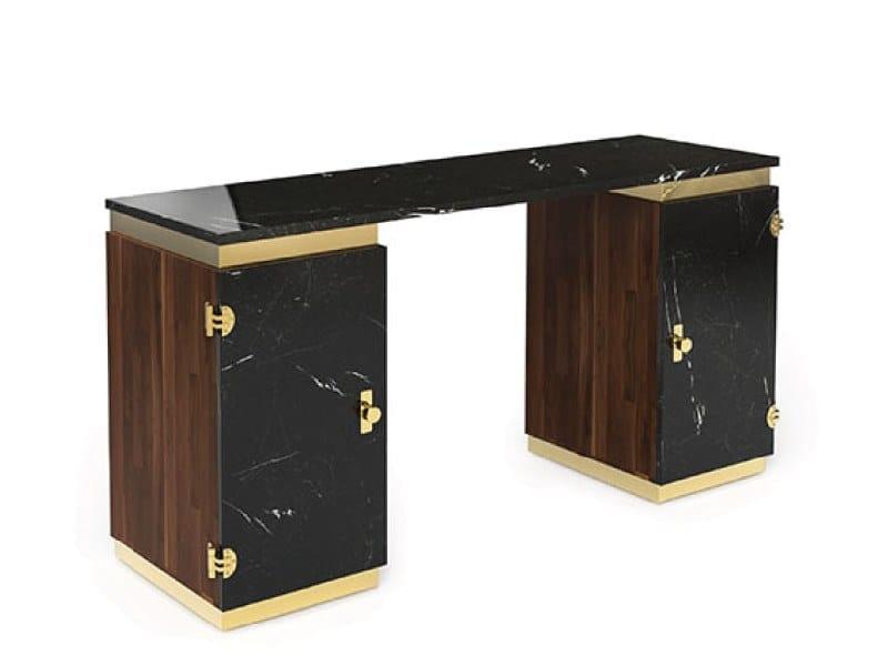 Rectangular writing desk LASDUN | Writing desk by Delightfull