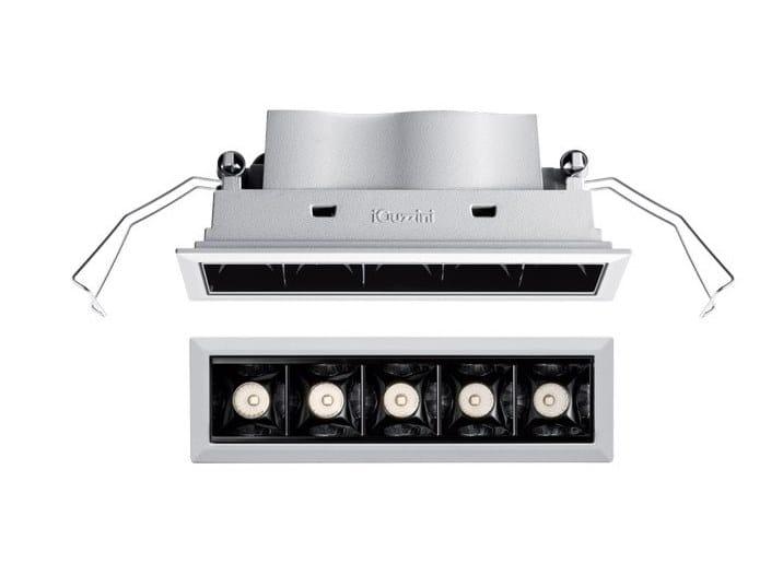 LED recessed spotlight for false ceiling LASER BLADE OVAL by iGuzzini