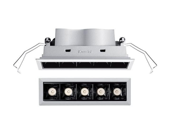 LED multiple ceiling spotlight LASER BLADE by iGuzzini