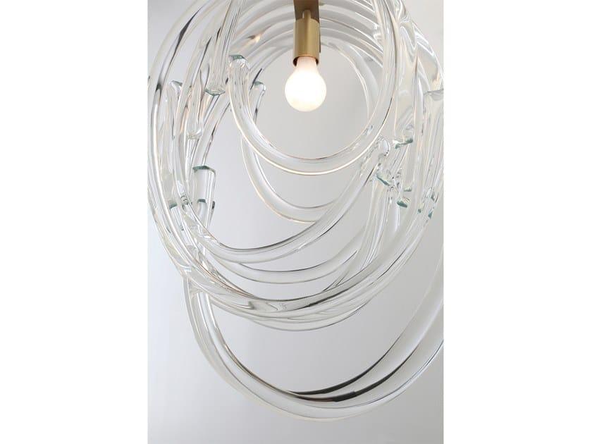 Double Pendant In Lasso Soffiato A Vetro Lampada Sospensione Sklo 8Py0vwOmNn